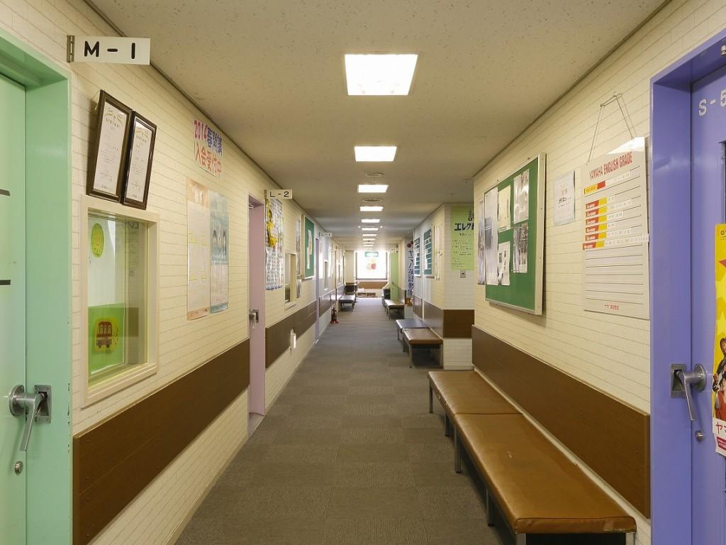 (藤井寺)廊下