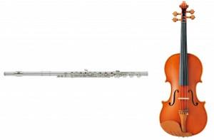 フルート・バイオリン